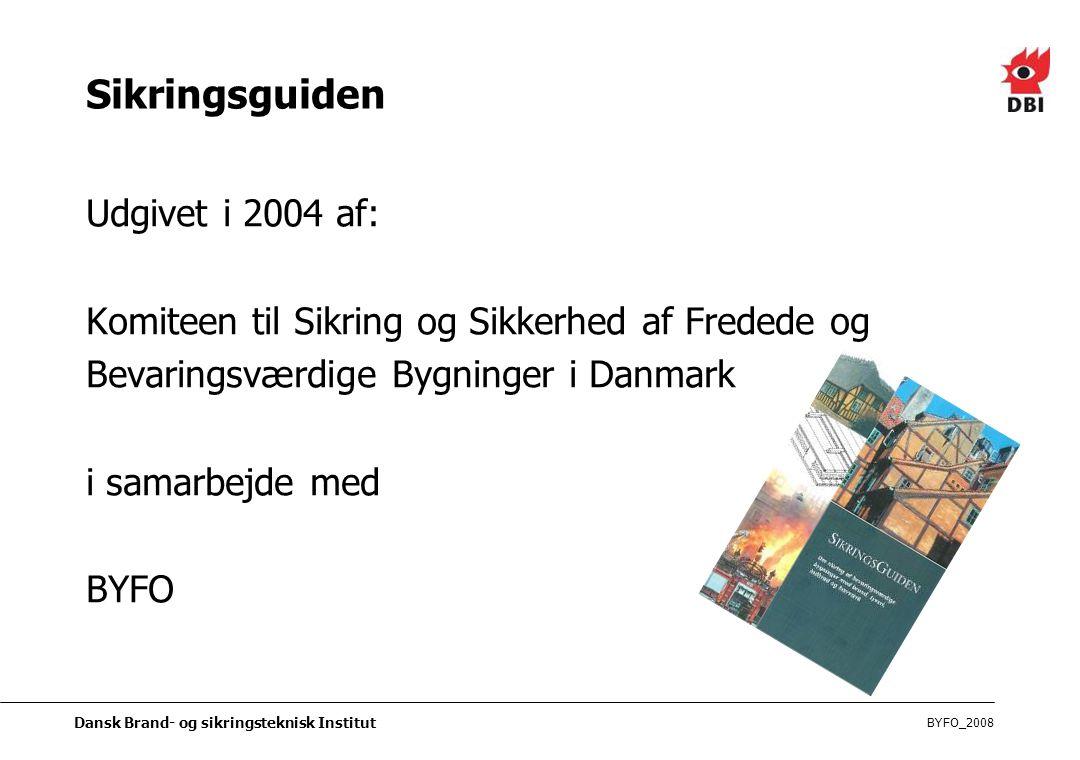 Sikringsguiden Udgivet i 2004 af: