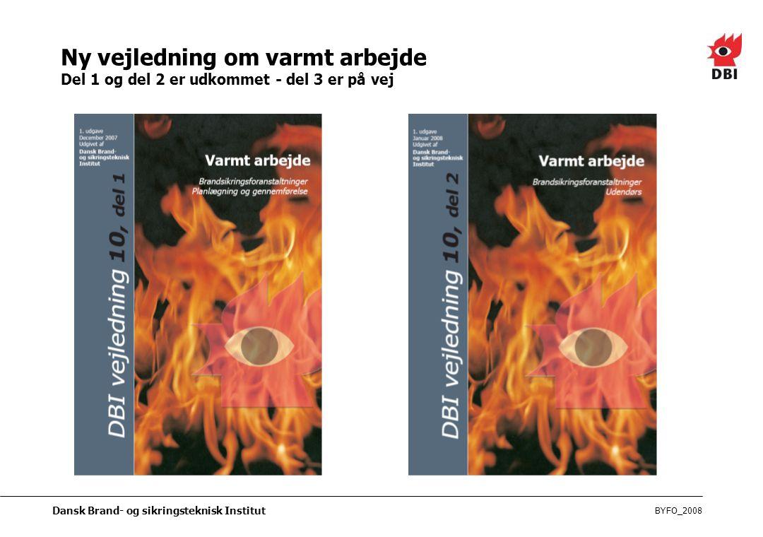 Ny vejledning om varmt arbejde Del 1 og del 2 er udkommet - del 3 er på vej