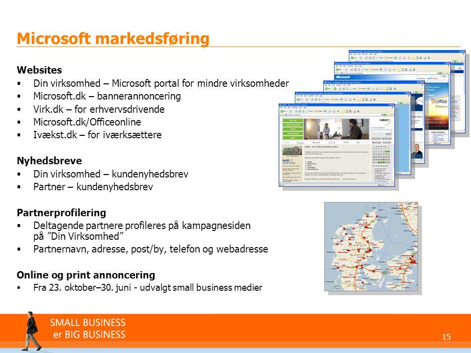 Microsoft markedsføring