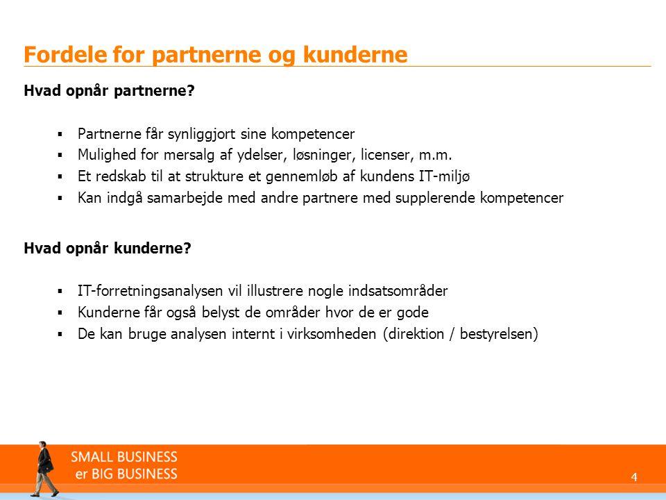 Fordele for partnerne og kunderne