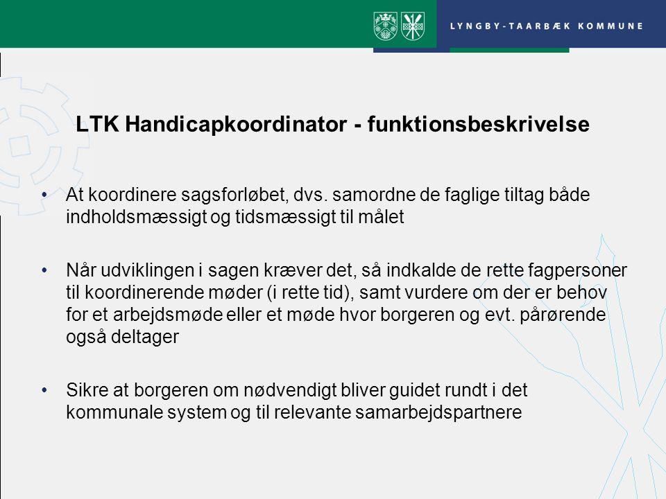 LTK Handicapkoordinator - funktionsbeskrivelse