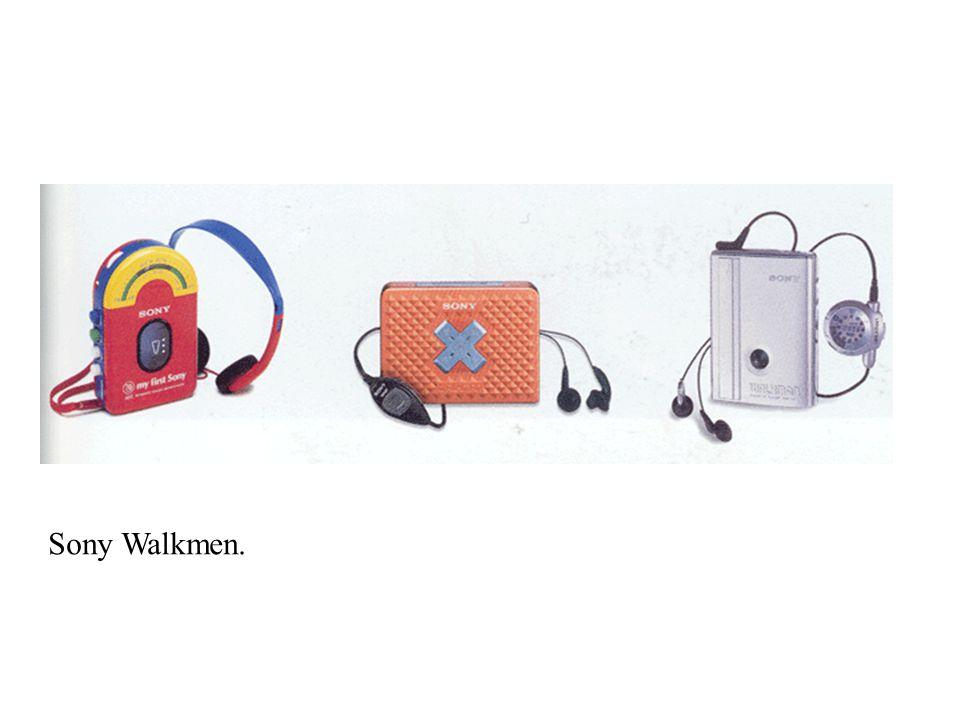 Sony Walkmen.