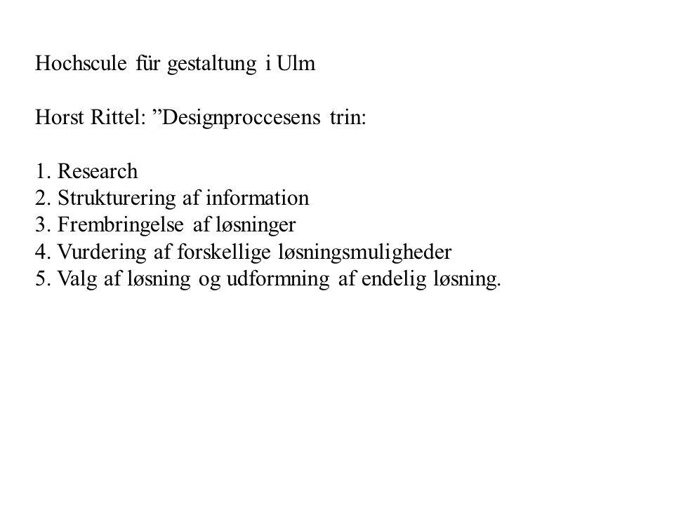 Hochscule für gestaltung i Ulm
