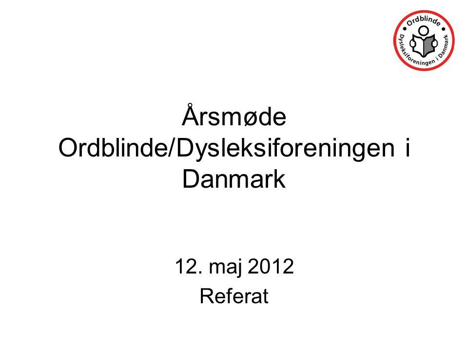 Årsmøde Ordblinde/Dysleksiforeningen i Danmark