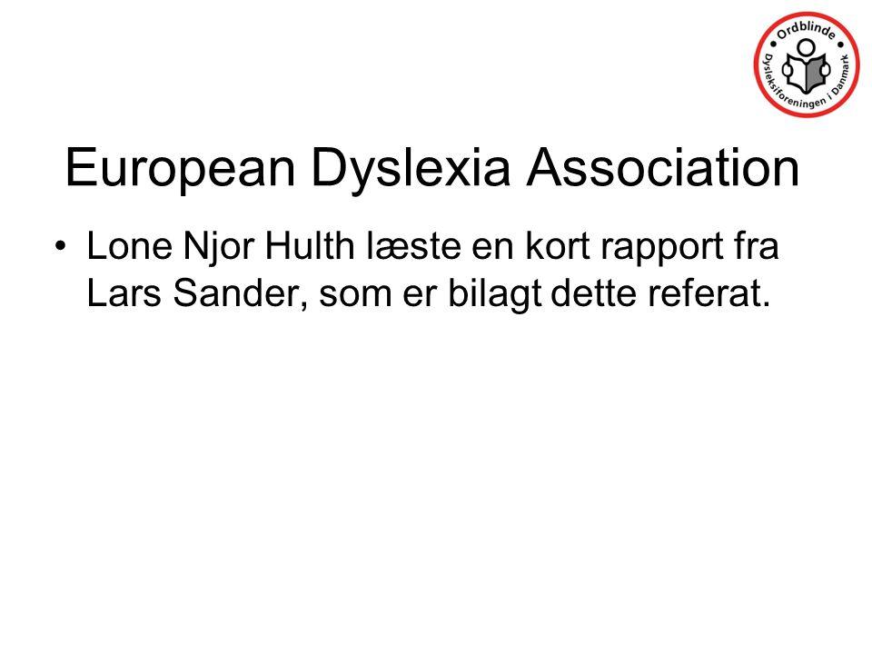 European Dyslexia Association