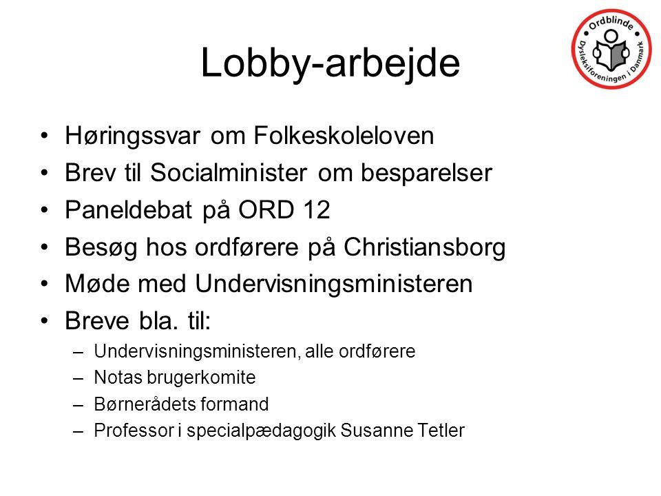 Lobby-arbejde Høringssvar om Folkeskoleloven