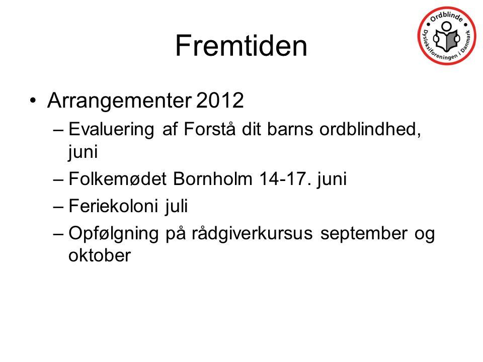 Fremtiden Arrangementer 2012