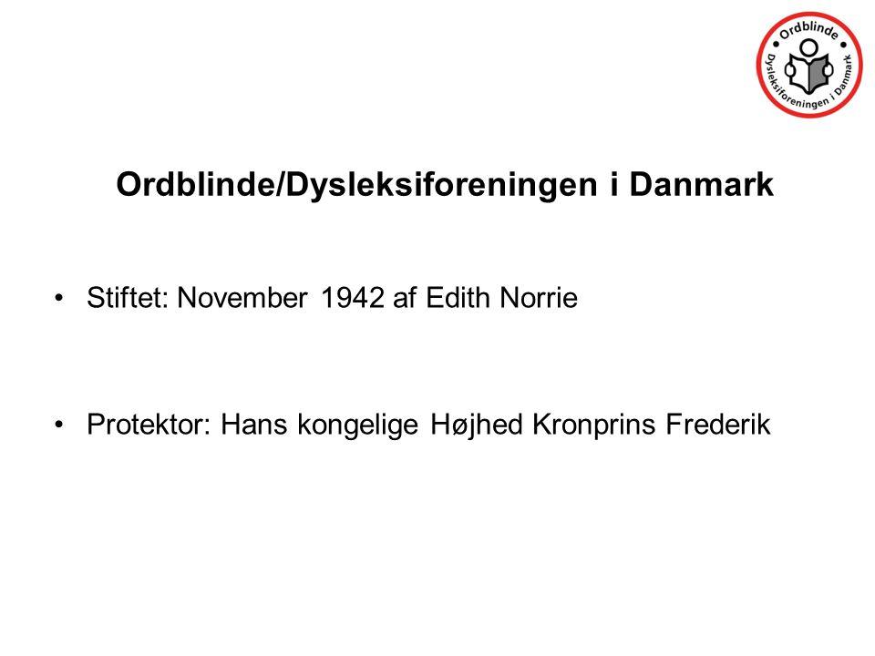 Ordblinde/Dysleksiforeningen i Danmark