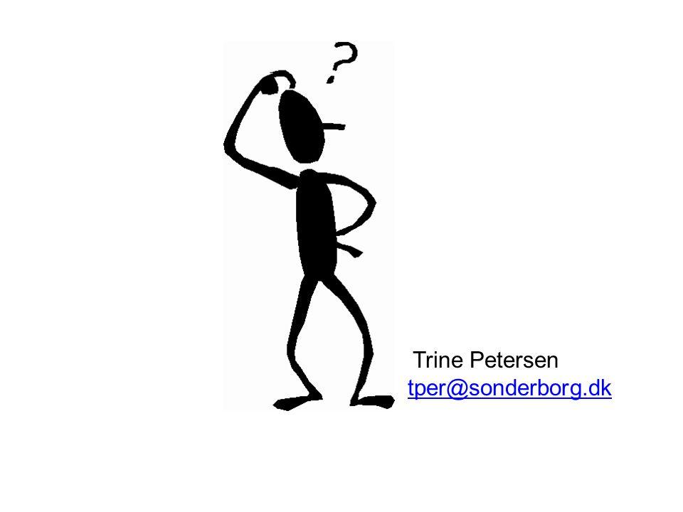 Trine Petersen tper@sonderborg.dk
