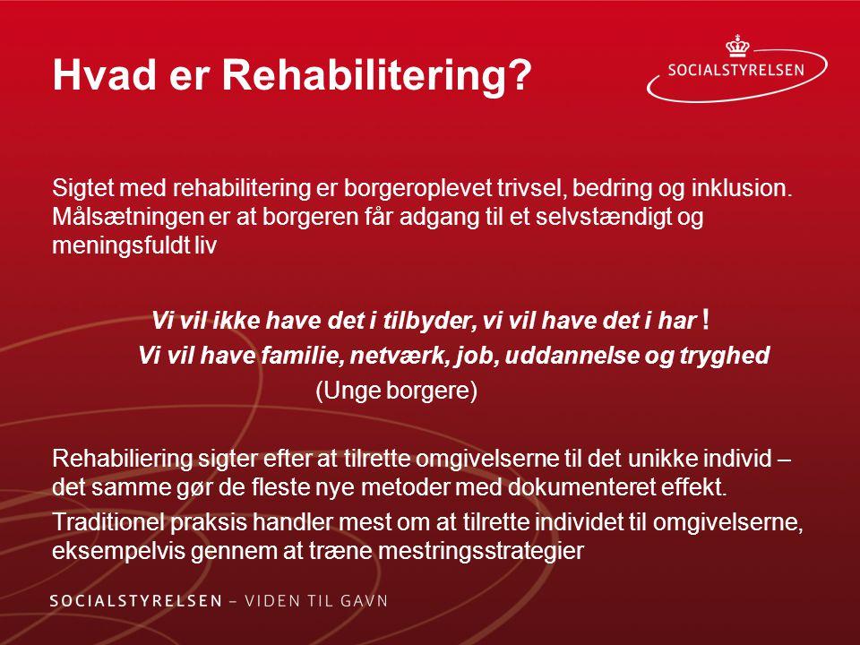 Hvad er Rehabilitering