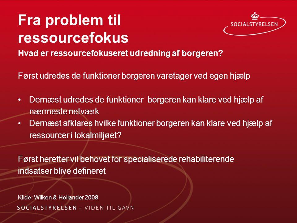 Fra problem til ressourcefokus