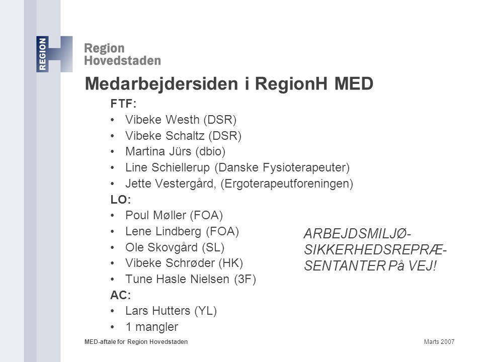 Medarbejdersiden i RegionH MED