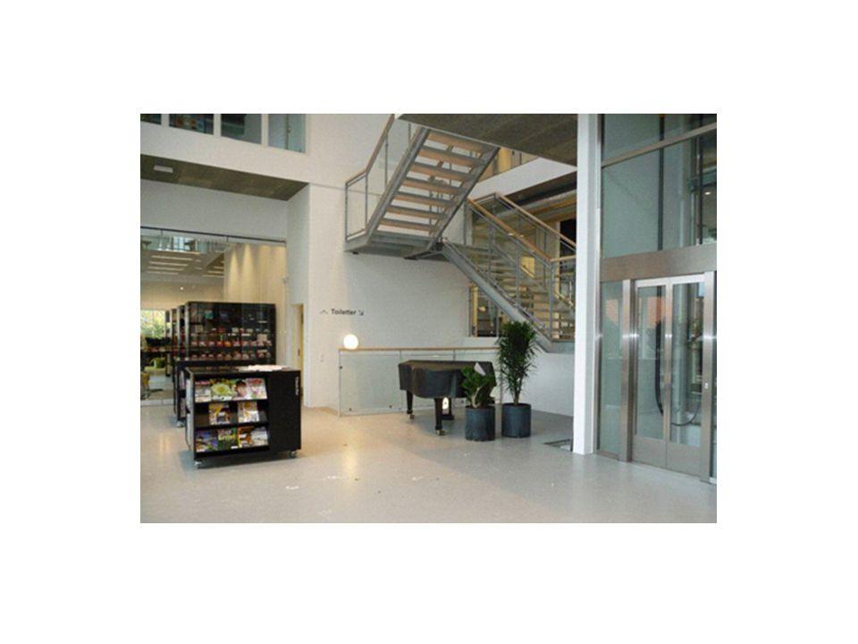 Foyer'en er et fleksibelt område