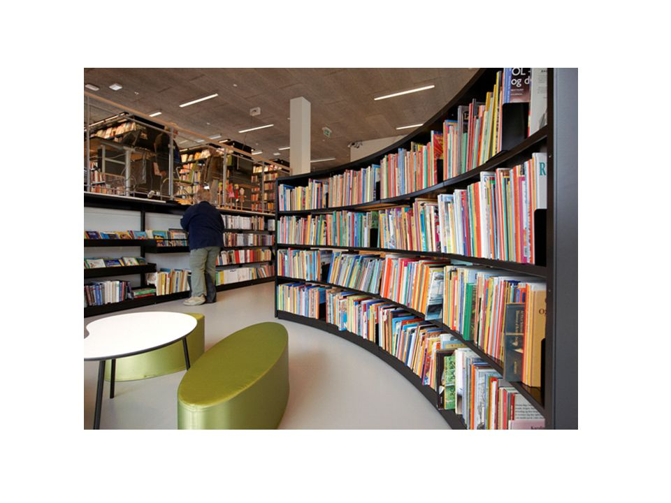 Alligevel har vi en udfordring i alle de særopstillinger, som vi godt kan lide i bibliotekerne.