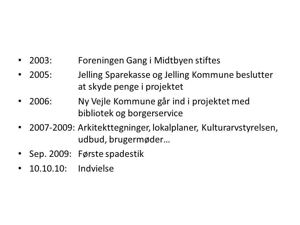 2003: Foreningen Gang i Midtbyen stiftes
