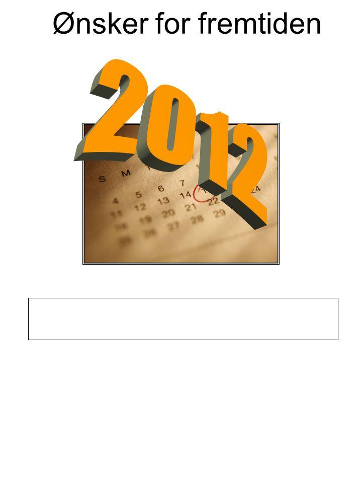 Ønsker for fremtiden 2012