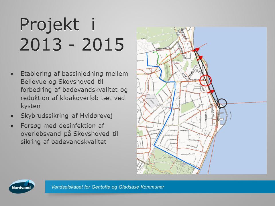 Projekt i 2013 - 2015