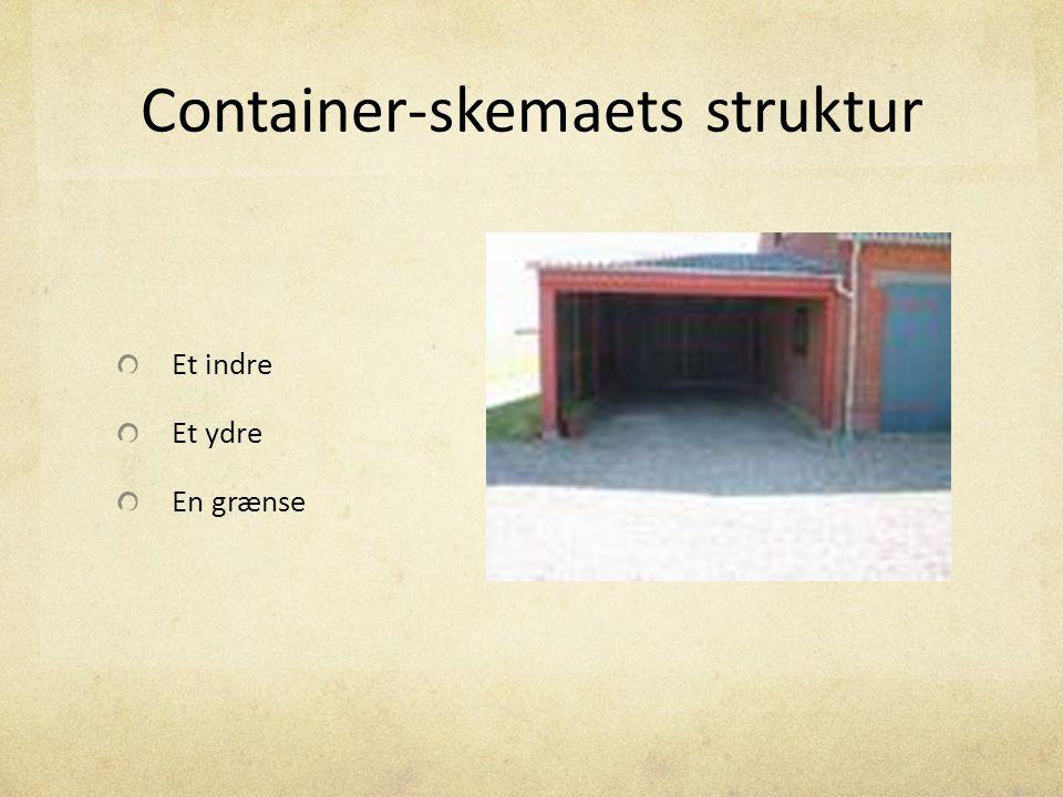 Container-skemaets struktur