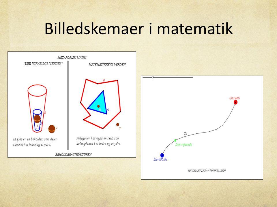 Billedskemaer i matematik