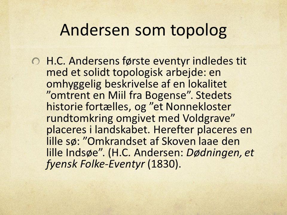 Andersen som topolog