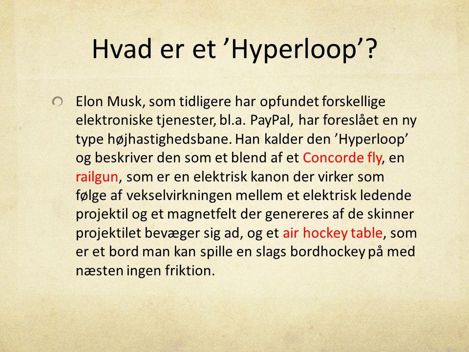 Hvad er et 'Hyperloop'