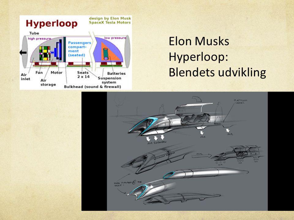 Elon Musks Hyperloop: Blendets udvikling