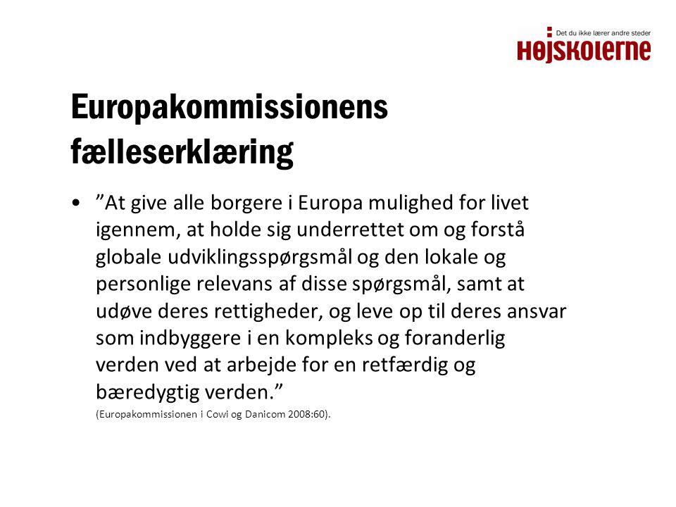 Europakommissionens fælleserklæring