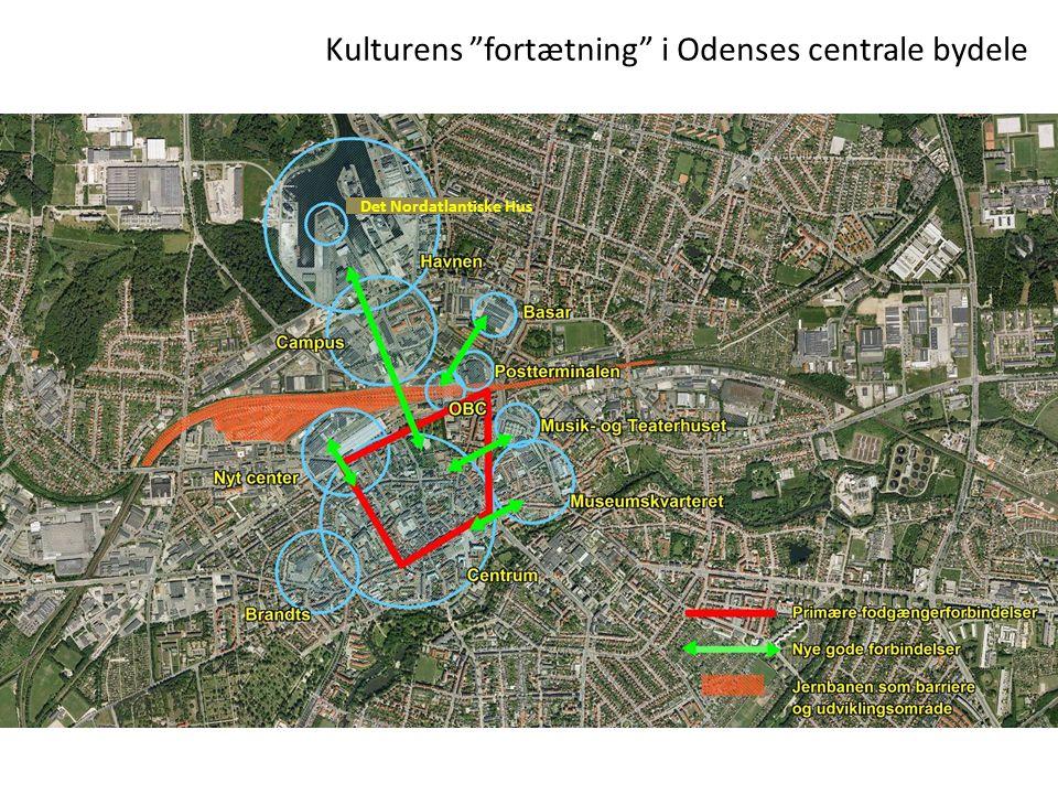 Kulturens fortætning i Odenses centrale bydele