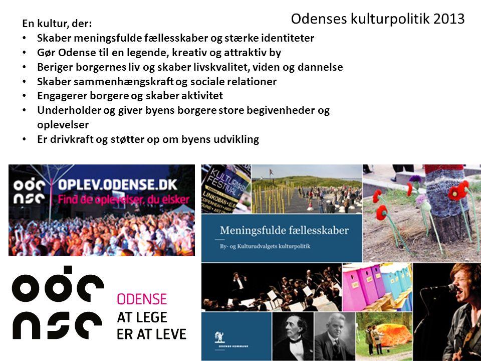 Odenses kulturpolitik 2013