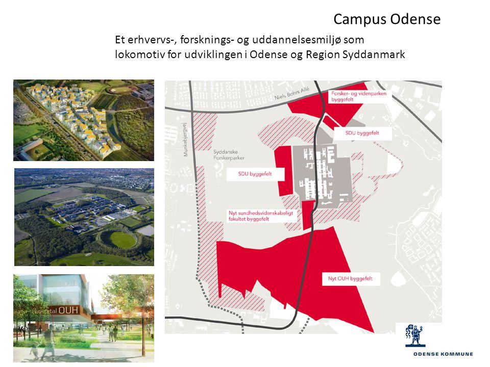 Campus Odense Et erhvervs-, forsknings- og uddannelsesmiljø som