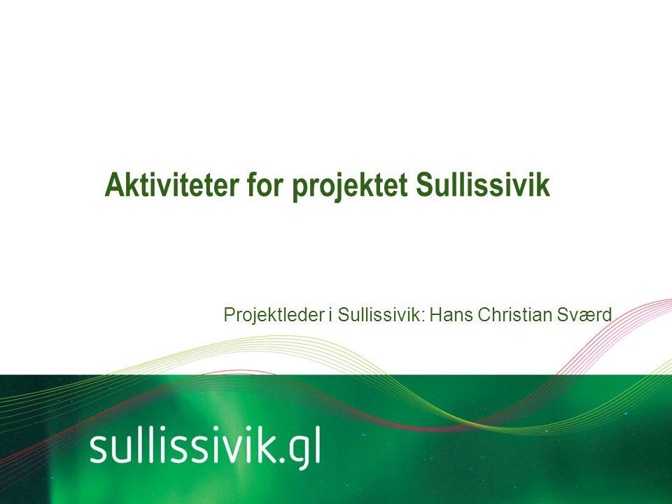 Aktiviteter for projektet Sullissivik