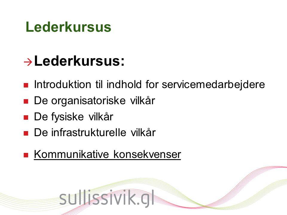 Lederkursus Lederkursus: