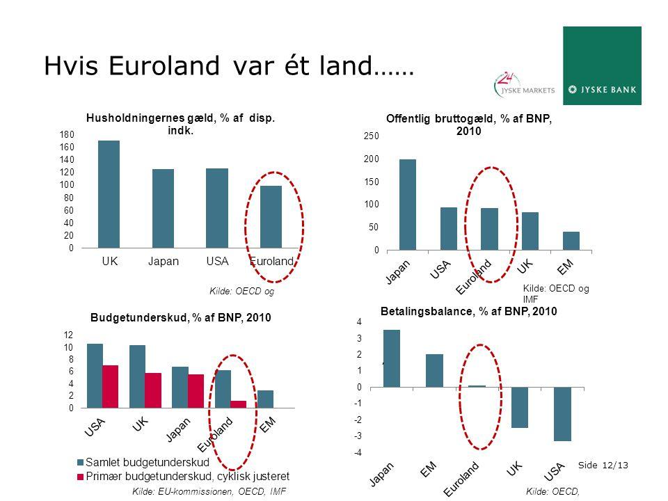 Hvis Euroland var ét land……