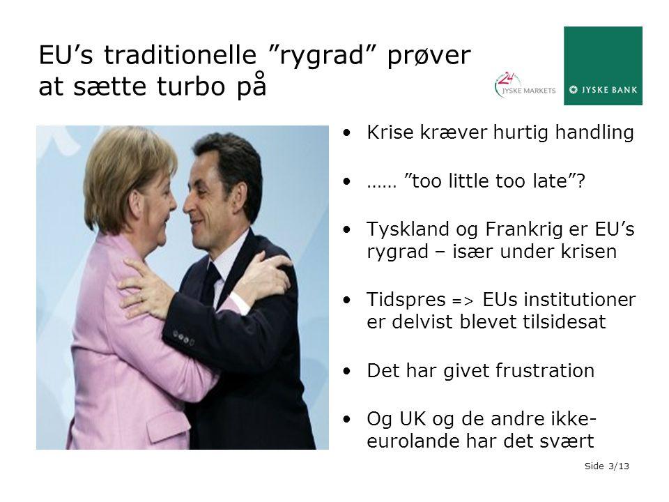 EU's traditionelle rygrad prøver at sætte turbo på
