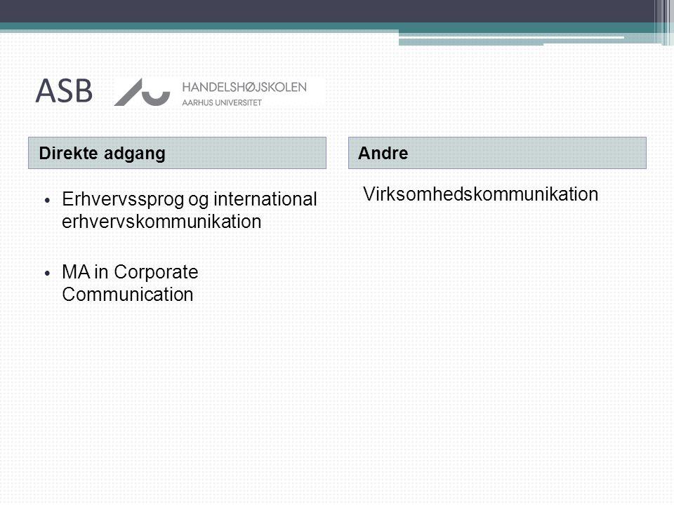 ASB Virksomhedskommunikation