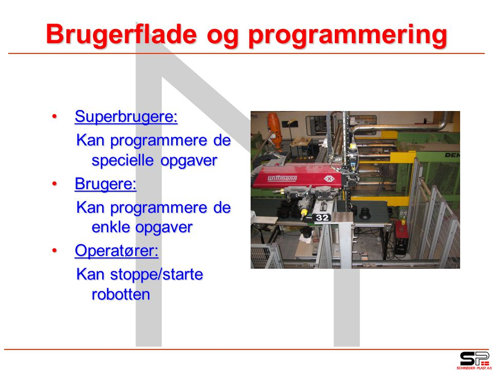 Brugerflade og programmering