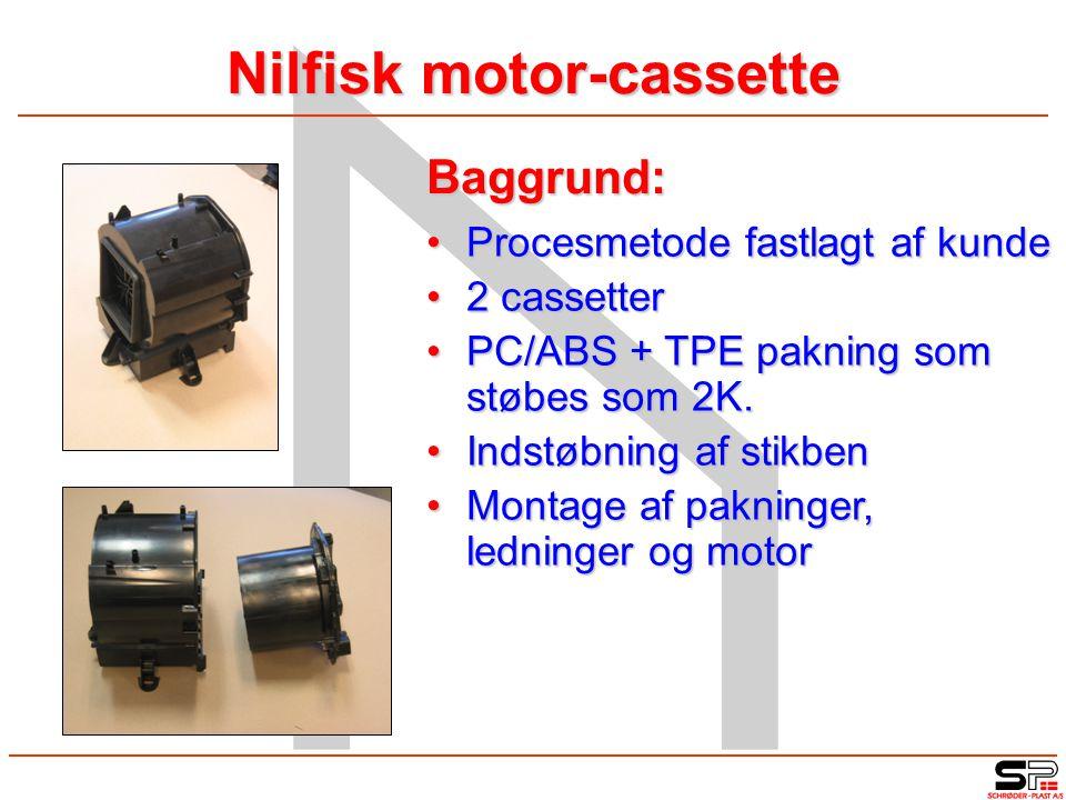 Nilfisk motor-cassette