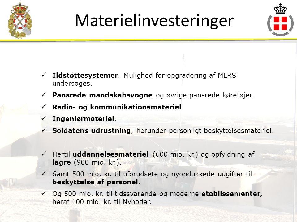 Materielinvesteringer