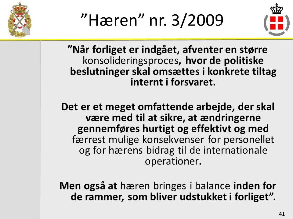 Hæren nr. 3/2009