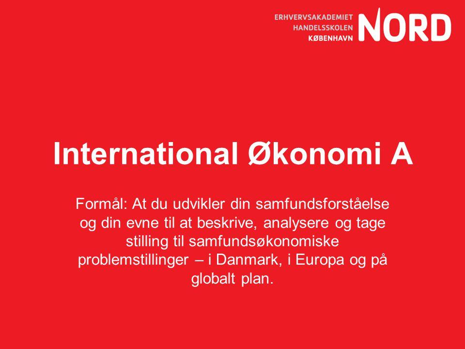 International Økonomi A