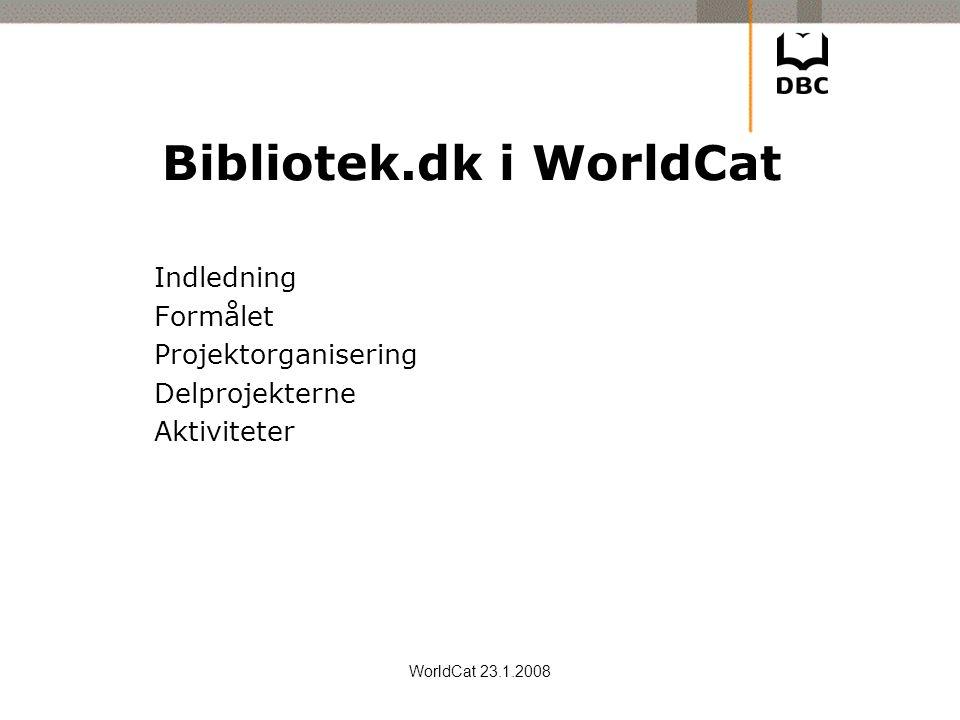 Bibliotek.dk i WorldCat