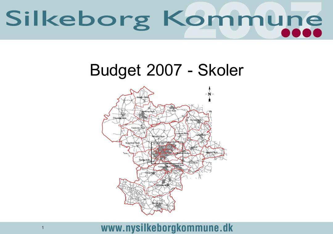Budget 2007 - Skoler