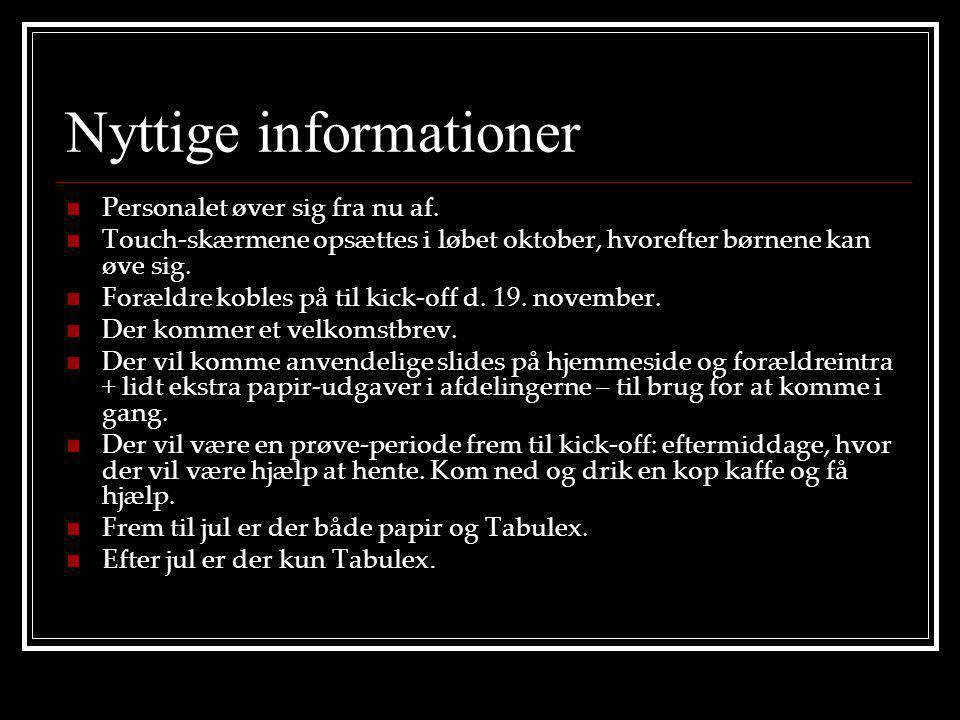 Nyttige informationer