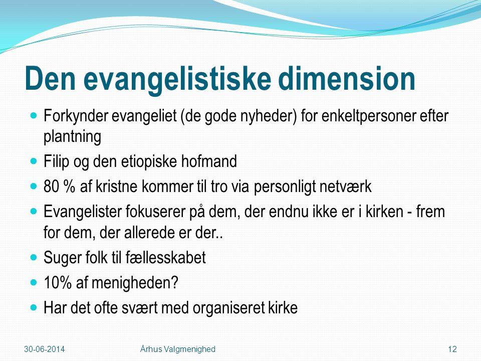 Den evangelistiske dimension