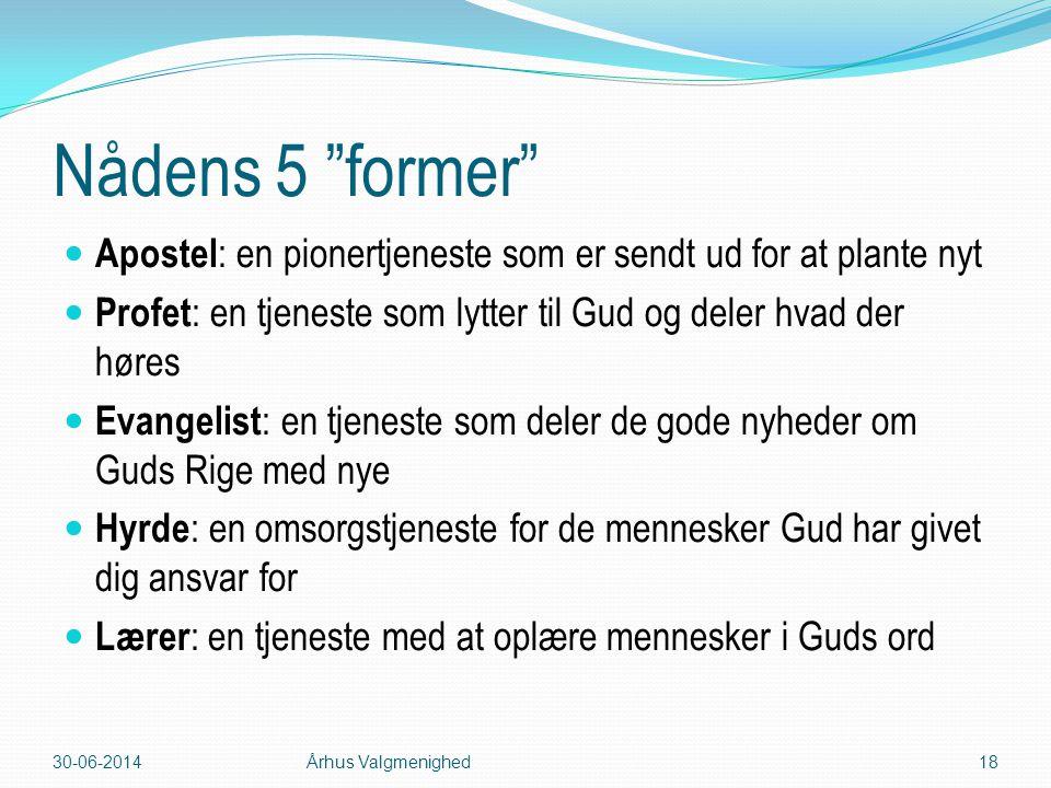 03-04-2017 Nådens 5 former Apostel: en pionertjeneste som er sendt ud for at plante nyt.