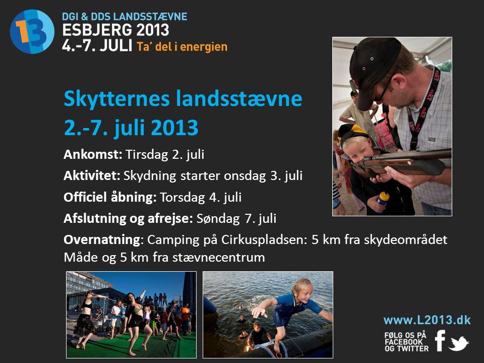 Skytternes landsstævne 2.-7. juli 2013