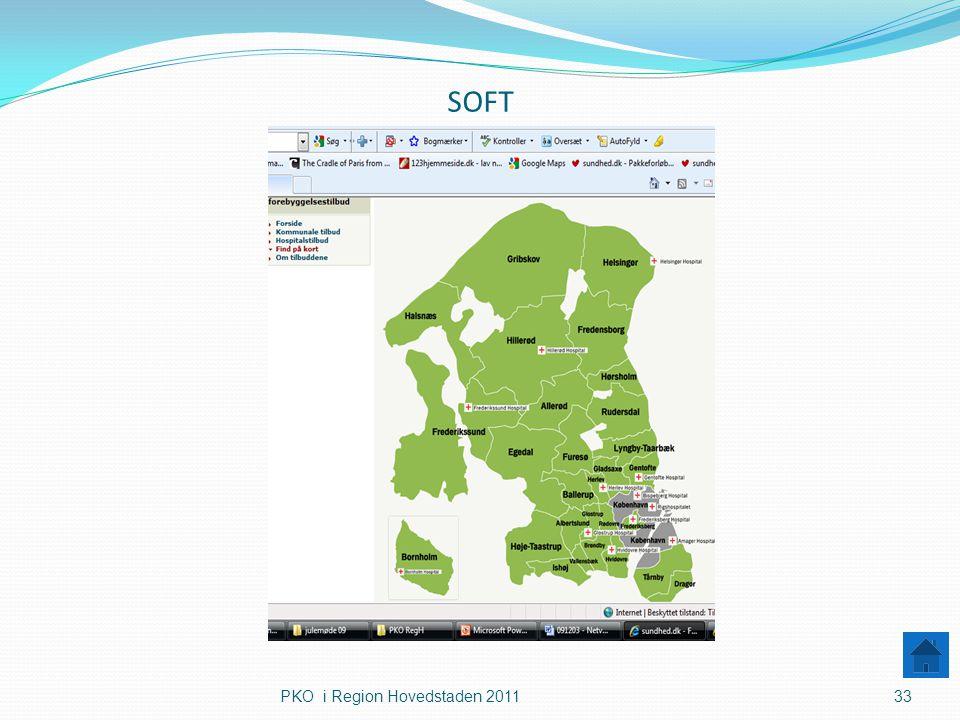 SOFT PKO i Region Hovedstaden 2011