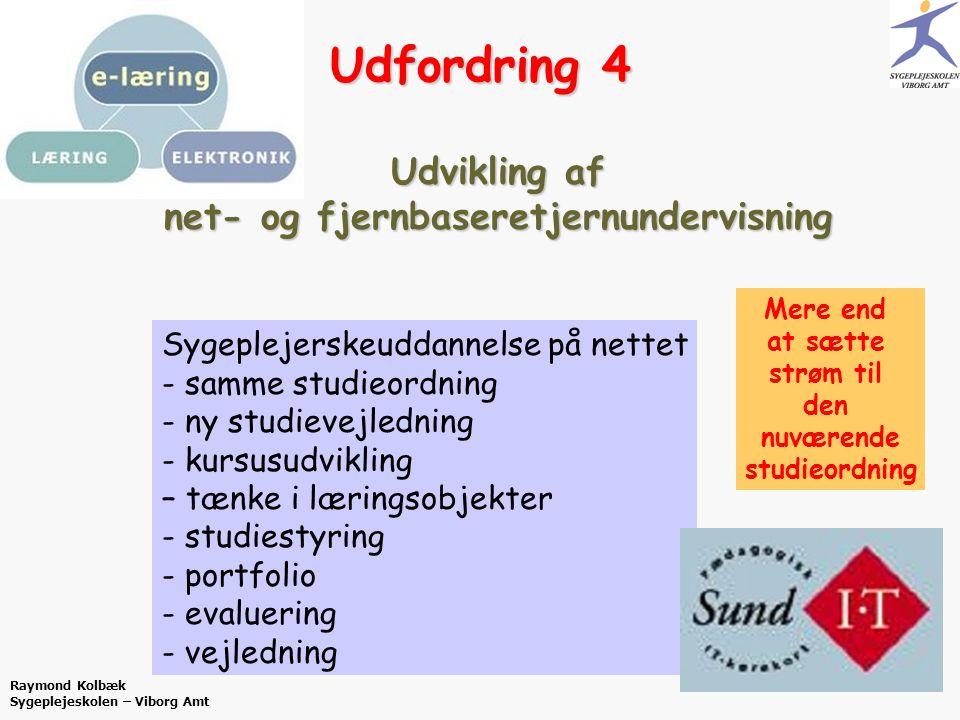 Udvikling af net- og fjernbaseretjernundervisning