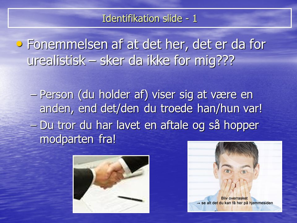 Identifikation slide - 1