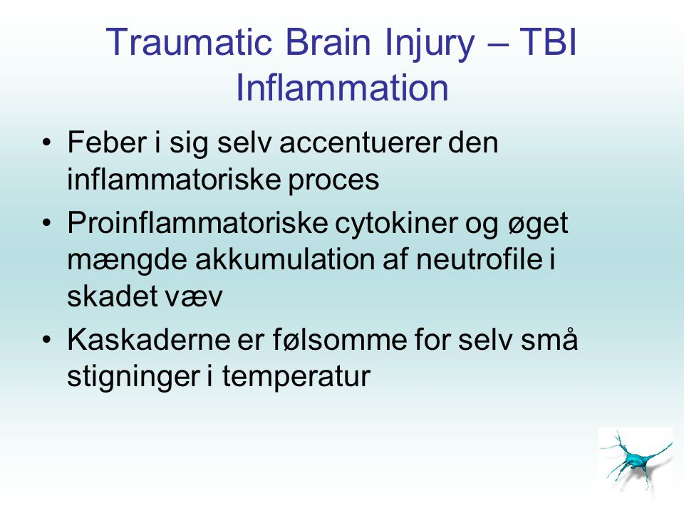 Traumatic Brain Injury – TBI Inflammation